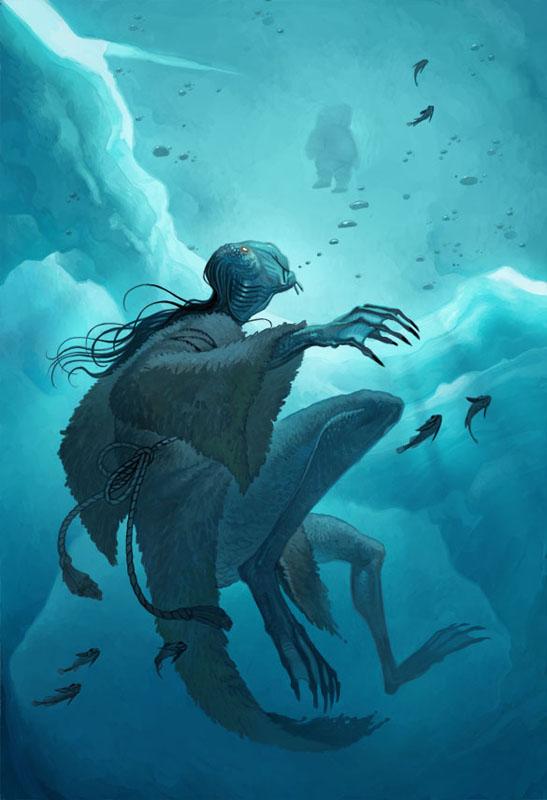 qalupalik under water by Joy Ang