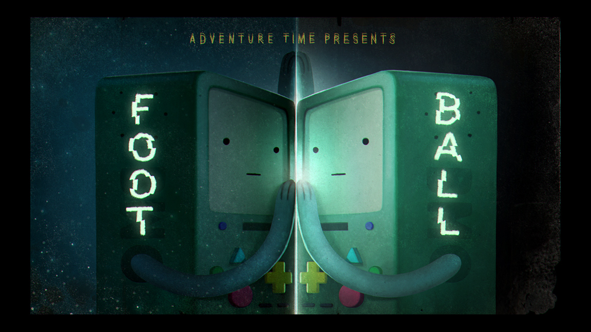 Adventure Time Title Card Paintings (original designs by